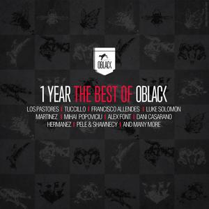 VARIOUS - 1 Year The Best Of Oblack