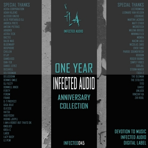 VARIOUS - 1 Year Of Infected Audio