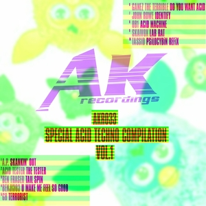 VARIOUS - Special Acid Techno Compilation Vol 1