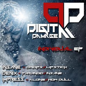 INSANE/DENIX/IMPRESS - Digital Damage Records Individual EP