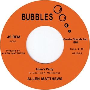 MATTHEWS, Allen - Allen's Party