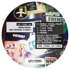 KAPAZUNDER - What Happened To Nancy (remixes)
