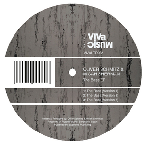 SCHMITZ, Oliver/MICAH SHERMAN - The Bass EP