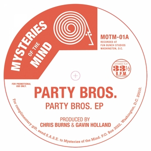 PARTY BROS feat MICHELLE WEBB - Party Bros EP