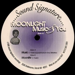 PARRISH, Theo - Moonlight Music & You