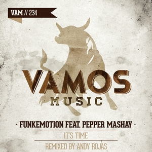 FUNKEMOTION feat PEPPER MASHAY - It's Time