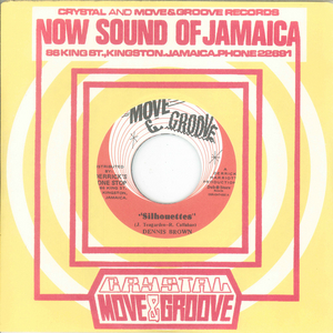 DENNIS BROWN/CRYSTALITES AUGUSTUS PABLO - Silhouettes / Bass & Drum Version