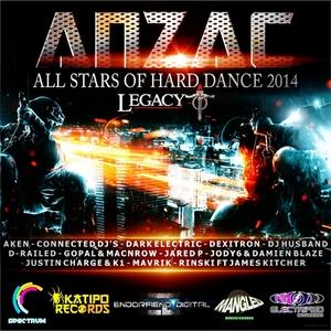 VARIOUS - ANZAC All Stars Of Hard Dance 2014