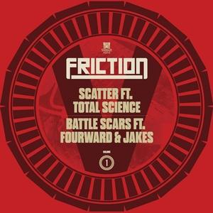FRICTION - Friction Vs Vol 1: Scatter Battle Scars
