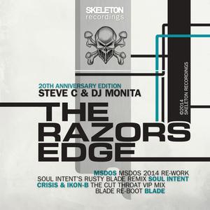 STEVE C/DJ MONITA - The Razors Edge 2014 (remixes)