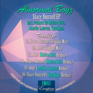 ABNORMAL BOYZ - Share Yourself EP