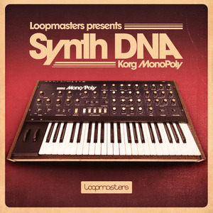 LOOPMASTERS - Synth DNA: Korg MonoPoly (Sample Pack WAV/LIVE)