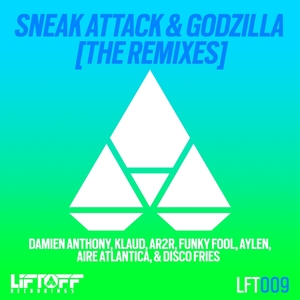ANTHONY, Damien/KLAUD/AR2R/FUNKY FOOL - Sneak Attack & Godzilla: The Remixes
