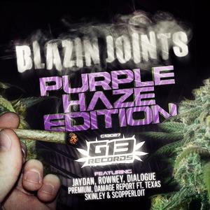 VARIOUS - Blazin Joints - Purple Haze Edition