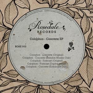 COLOPHON - Concrete EP