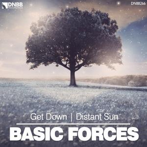 BASIC FORCES - Get Down/Distant Sun