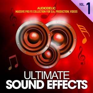 AUDIODELIC - Ultimate Sound Effects Vol 1 Massive Pro FX Set For DJs Production Videos