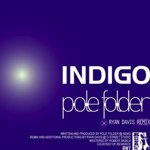 POLE FOLDER - Indigo