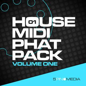 5PIN MEDIA - House MIDI Phat Pack Vol 1 (Sample Pack MIDI)