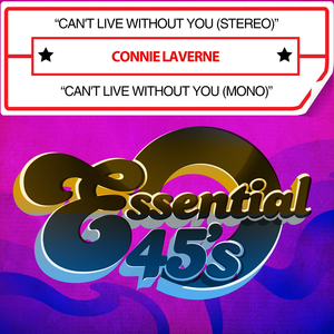 LAVERNE, Connie - Can't Live Without You