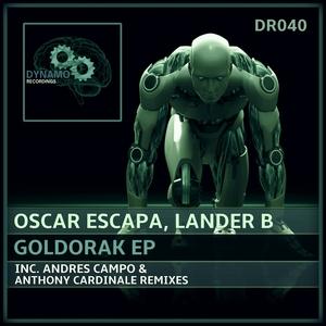 LANDER B/OSCAR ESCAPA - Goldorak EP