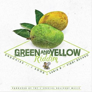 CHRONIXX/J BOOG/LUKIE D/ZIGGI RECADO - Green X Yellow Riddim