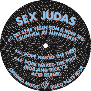 SEX JUDAS - Optimo Music Disco Plate 4