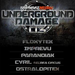 FLOXYTEK/IMPREVU/PARANOIAK/RECREA CIRCUS/OSTRALOPITEK - Underground Damage 03