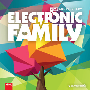 VARIOUS - Electronic Family: 5 Year Anniversary