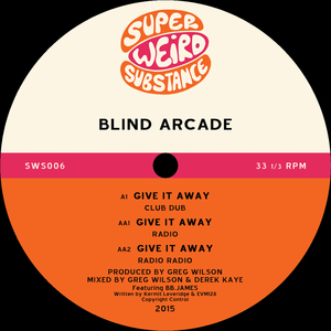 BLIND ARCADE - Give It Away