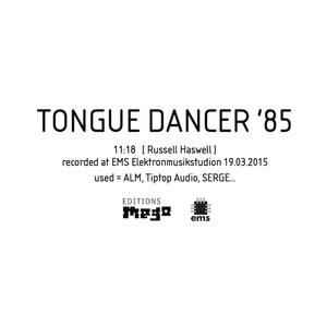 HASWELL, Russell - Tongue Dancer '85