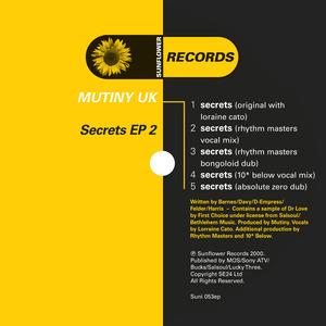 MUTINY UK/LORRAINE CATO - Secrets