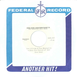 WILSON, Clive/THE SKATALITES/FEDERAL SINGERS - One Ska, One Ounce Of Weed, One Beer