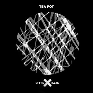 STATIC PLATE - Tea Pot