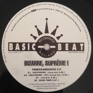 BIZARRE SUPREME - Yabbadabbadoo EP