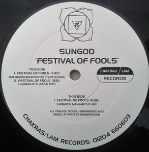 SUNGOD - Festival Of Fools