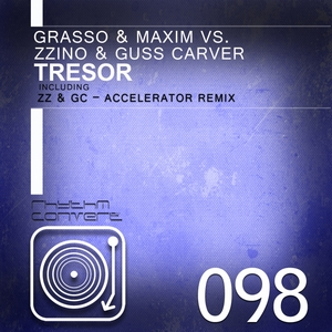 GRASSO & MAXIM vs ZZINO & GUSS CARVER - Tresor EP