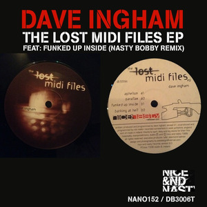 DAVE INGHAM - The Lost Midi Files Ep