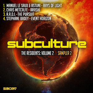 ASTUNI & MANUEL LE SAUX/CHRIS METCALFE/ARDI/STEPHANE BADEY/ - Subculture The Residents Volume 2/Sampler 2