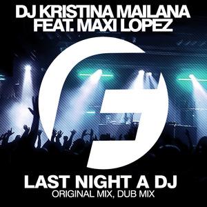 DJ KRISTINA MAILANA/MAXI LOPEZ - Last Night A DJ