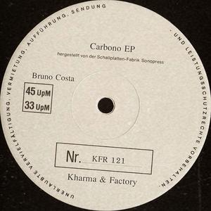 BRUNO COSTA - Carbono EP