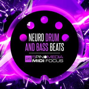 5PIN MEDIA - MIDI Focus: Neuro Drum & Bass Beats (Sample Pack MIDI/WAV/LIVE/MASCHINE)
