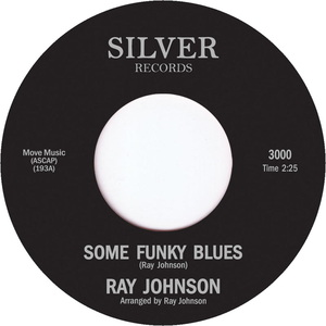 RAY JOHNSON - Some Funky Blues