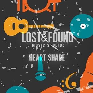 LOST & FOUND MUSIC STUDIOS - Heart Shape