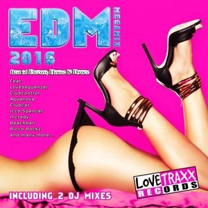 VARIOUS - EDM Megamix 2016 (unmixed tracks)
