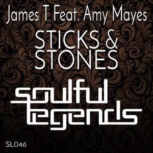 JAMES T feat AMY MAYES - Sticks & Stones