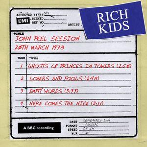 RICH KIDS - John Peel Session (20 March 1978)