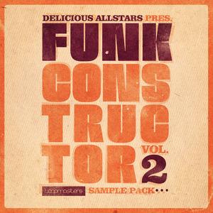 DELICIOUS ALLSTARS - Funk Constructor 2 (Sample Pack WAV/APPLE/LIVE/REASON)