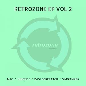 MIC/UNIQUE 3/BASS GENERATOR/SIMON MARK - RetrOzone EP Vol 2