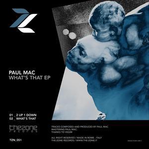 PAUL MAC - What's That EP